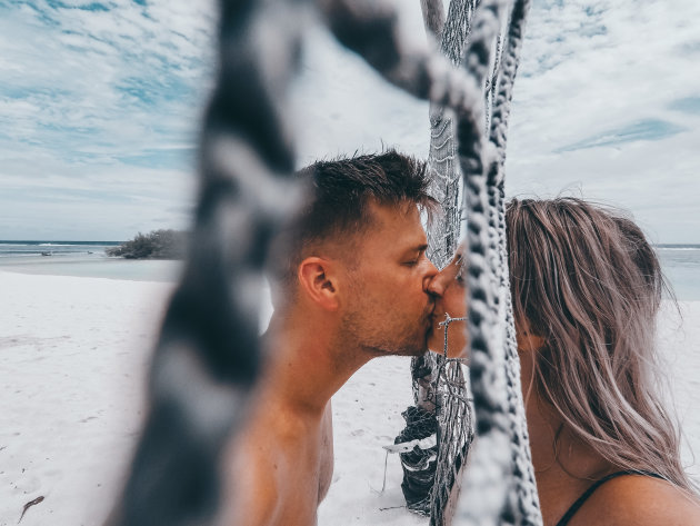 Romantisch Malediven, Kissing the enemy ;)