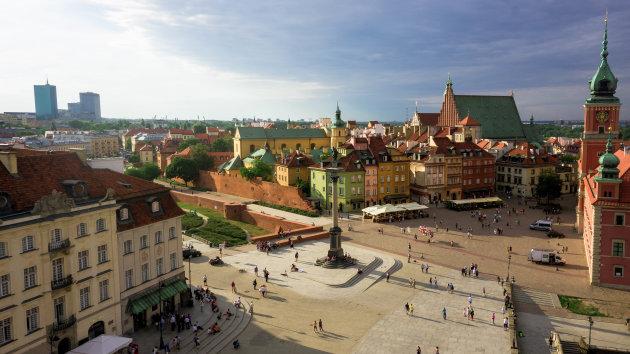 Warschau stadscentrum
