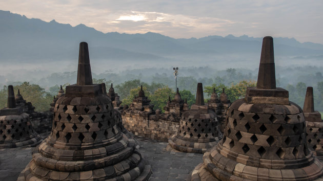 The Borobudur