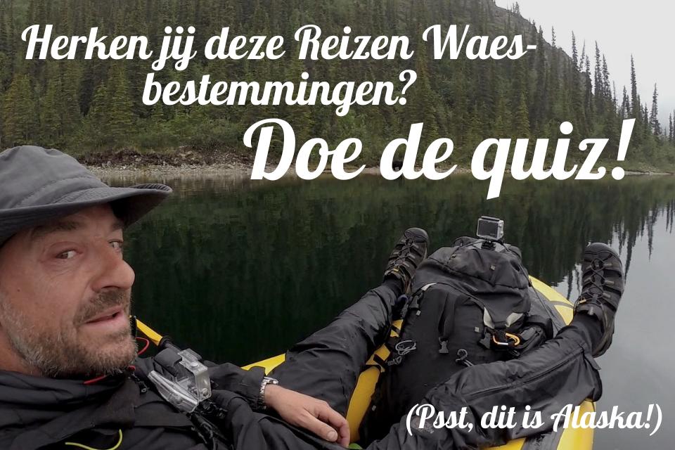 Tom Waes Reizen Waes quiz