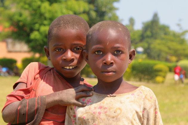 Op straat in Karongi, Rwanda