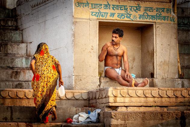 Het leven in Varanasi
