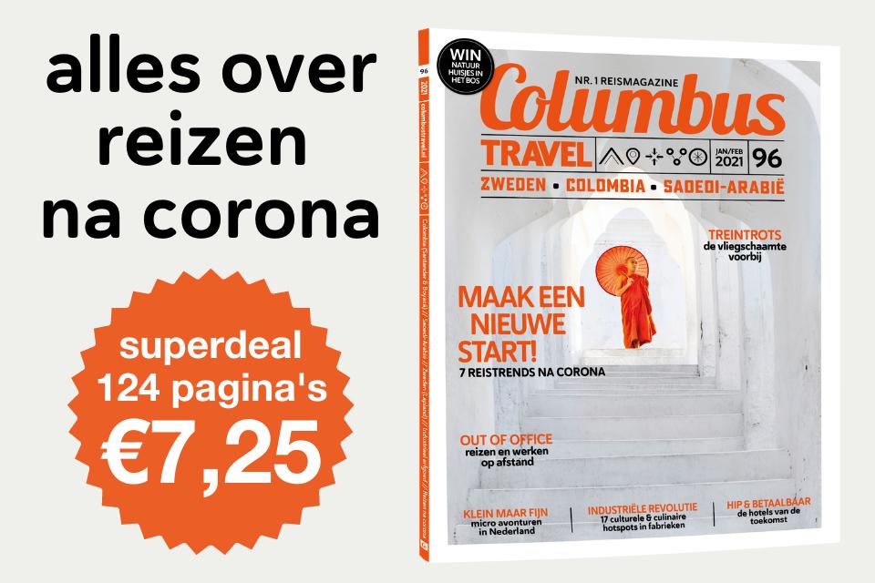 reizen na corona in Columbus Travel-editie 97