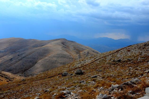 Beklimming berg Nemrut.