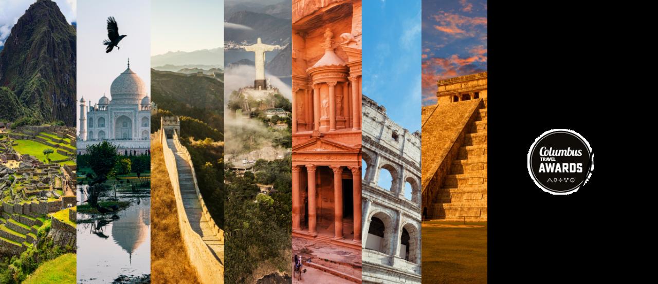 wereldwonderen fotowedstrijd Columbus Travel Awards