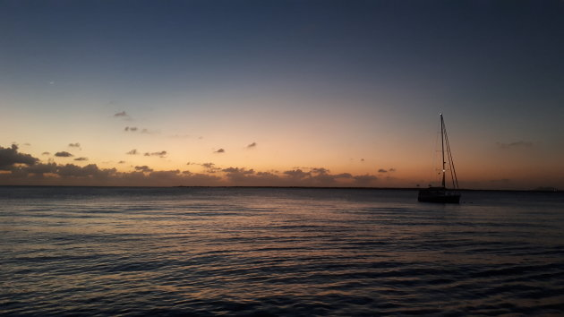 Varen van Curaçao naar Bonaire