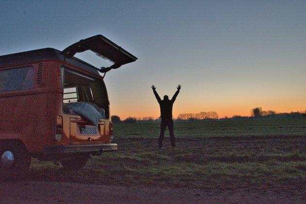 Ontdek de vrijheid in Nederland met een VW bus.