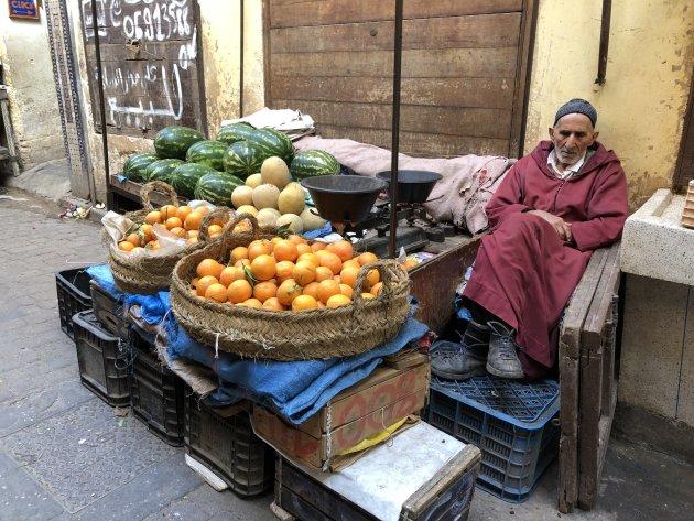 Geuren en kleuren in Fes, Marokko