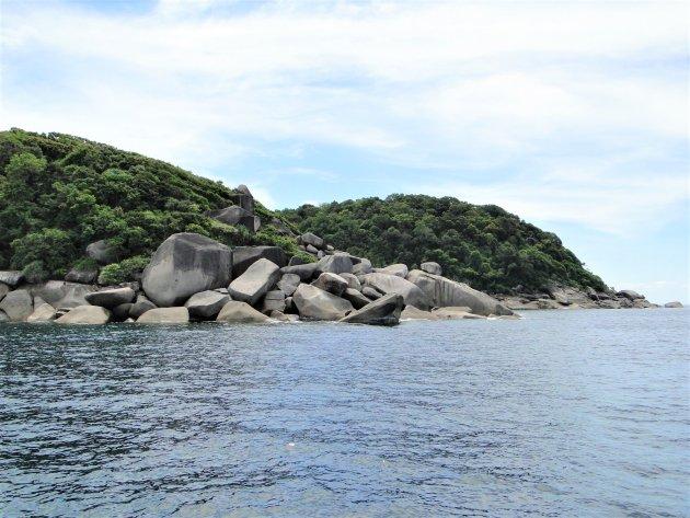 Similan eilandengroep.