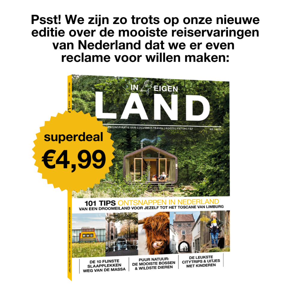 Vakantie in Nederland 101 tips