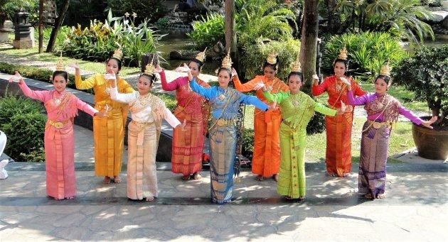 Thaise dansgroep.