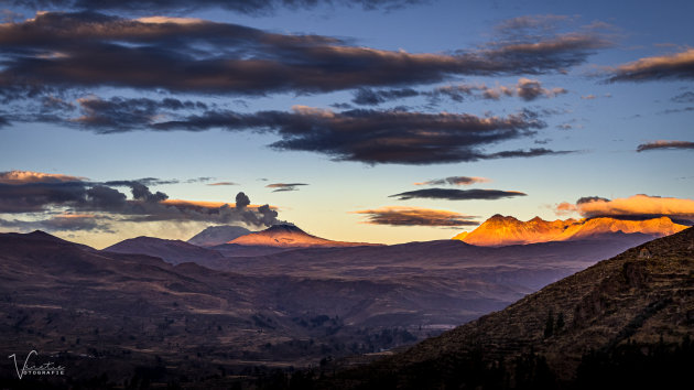 The Vulcans in Colca Valley