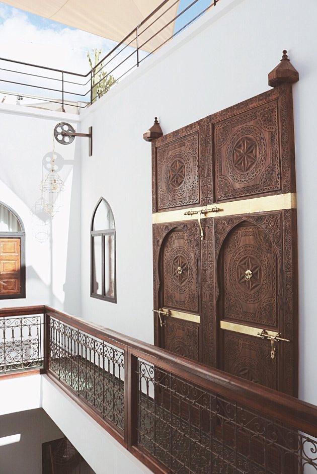 De deuren in Marrakech