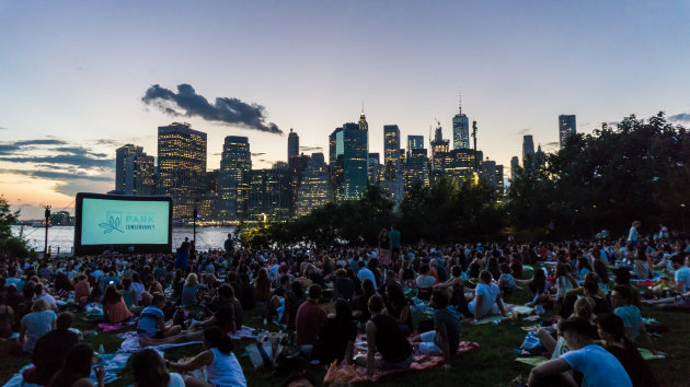 Movies with a view (Brooklyn - NYC)