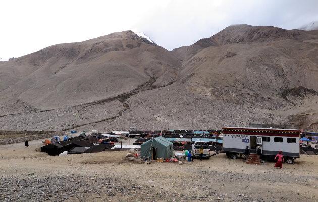 Mount Everest BC voor toeristen