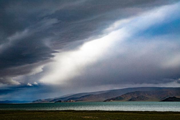 Indrukwekkende wolkenpartij