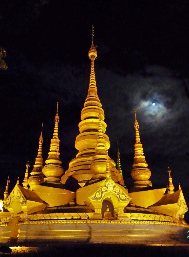 Bij de Shwedagon