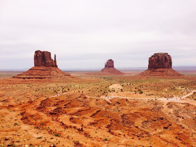 Monument valley, ga de vallei in!