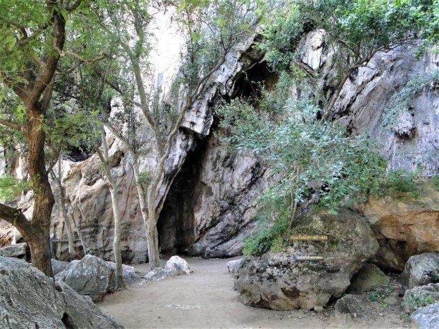 Grotten langs de oostkust.