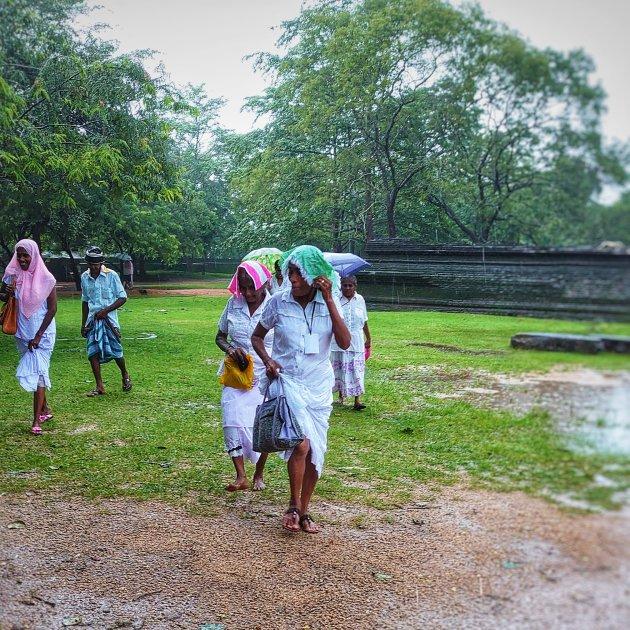 Polonnaruwa ~ ook in de regen een bezoekje waard!