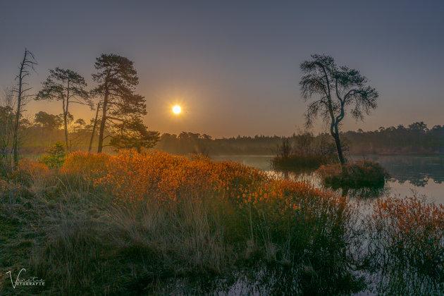 De Voorste Goorven - The sun is coming up !
