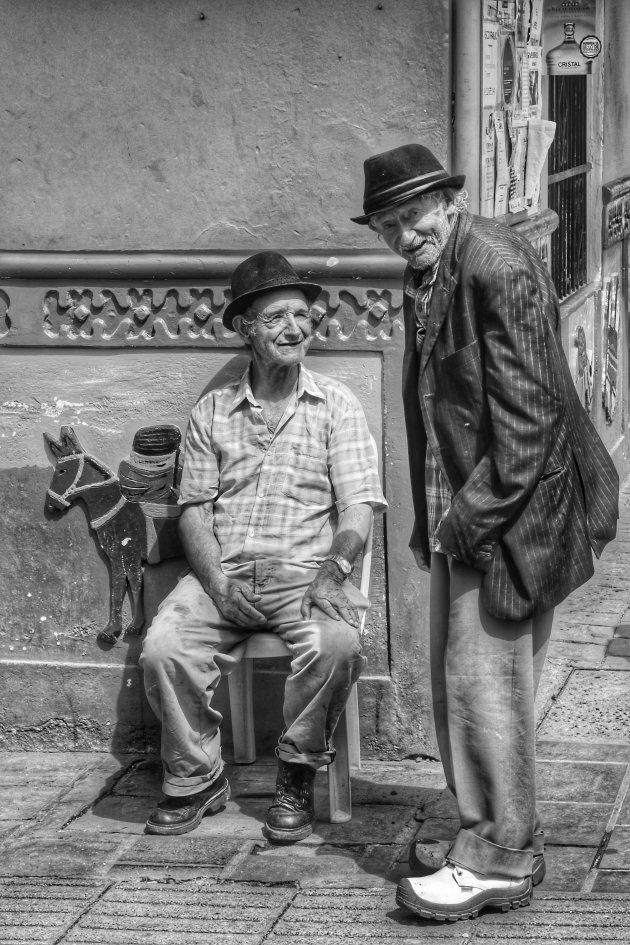 Praatje op straat