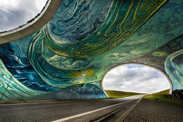 Veldhoven Aqua Urbana Tunnel Oersebaan