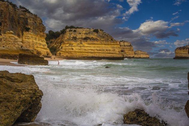 Baai aan de Algarve