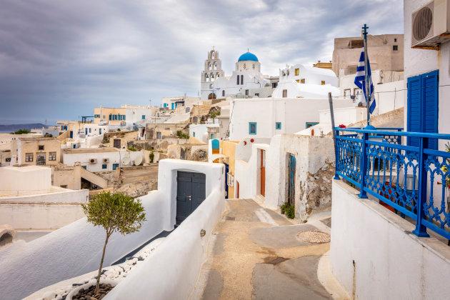 Een rustig authentiek plekje op Santorini