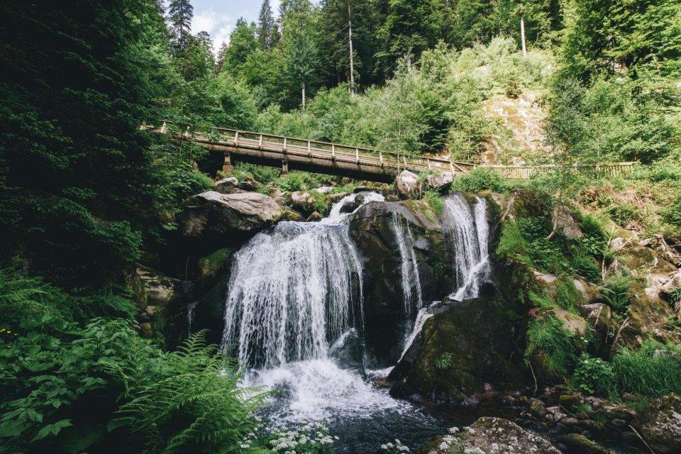 Watervallen van Triberg