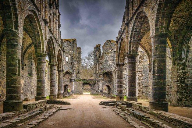 De ruïnes van de Abdij van Villers