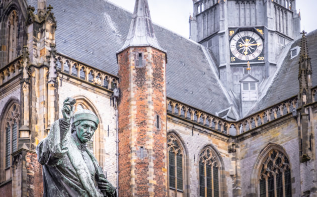 St Bavo Kerk en Laurens Janszoon Coster