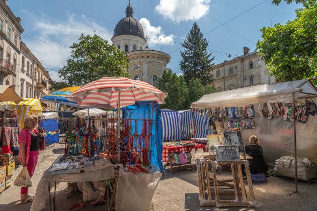 Markt in Lviv