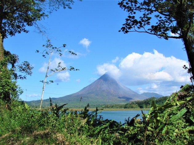 De Arenal Vulkaan.