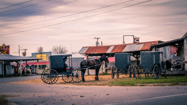 Parking my Horse and Carriage