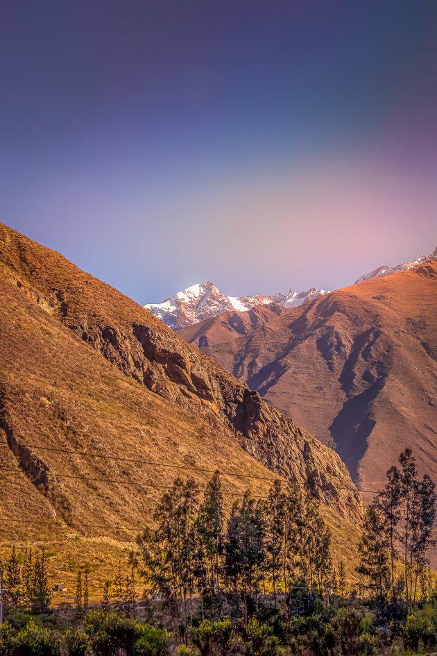 Onderweg naar Machu Picchu