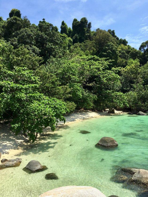 Ontspannen op Pangkor Laut