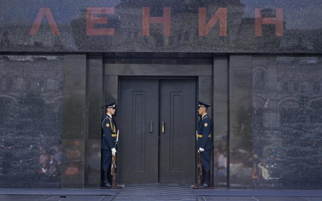 Lenin Mausoleum , Rode Plein, Moskou