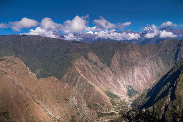 Omgeving Machu Picchu