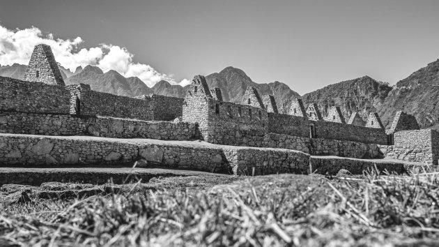 The residental secor of Machu Picchu