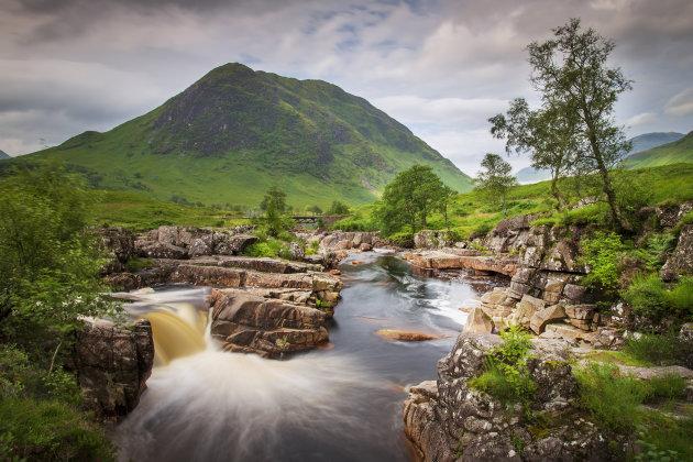 genieten van de Schotse Hooglanden