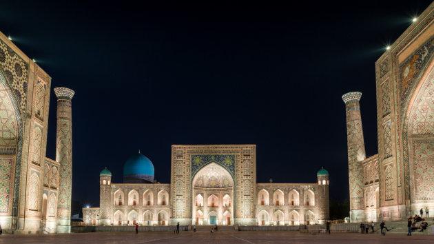 Registan Square, Samarkand, Oezbekistan