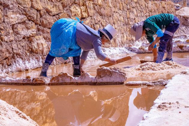 Het zoutwinnen in Maras