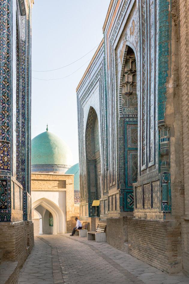 Shah-i-Zinda, Samarkand, Oezbekistan