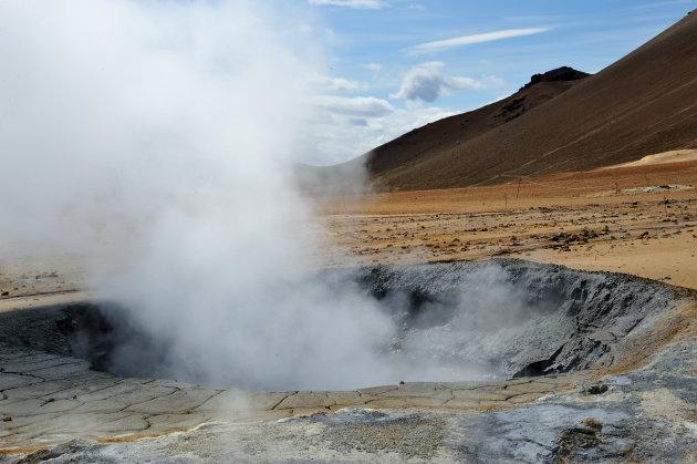 Geothermische activiteit Ijsland