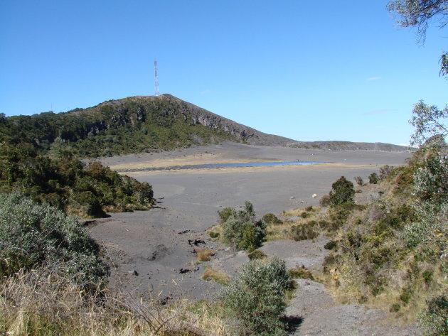 Op de Irazu vulkaan.