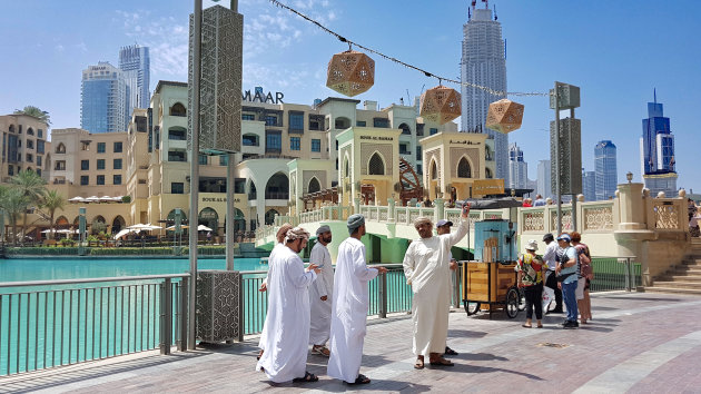 Dubai op zaterdagochtend