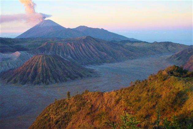 Vulkanen op Java.
