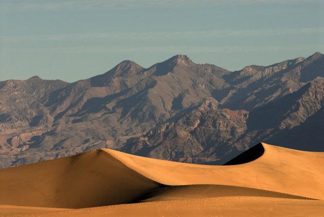 Mesquite Flat Sanddunes, Death Valley NP , Verenigde Staten