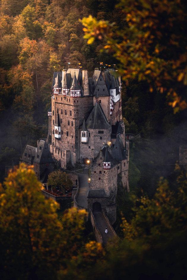 Burg Eltz, een sprookjesachtige burcht in Duitsland